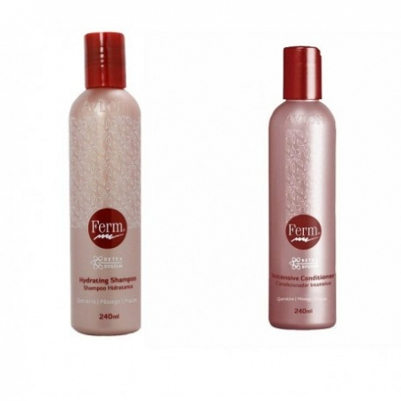 Avlon Ferm Kit Duo - Shampoo Hidratante 240ml + Condicionador Intensive 240ml - G