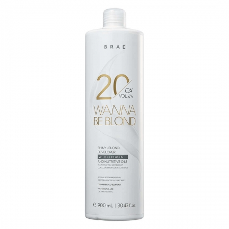 Braé Wanna Be Blond 20 Vol Ox - 900ml