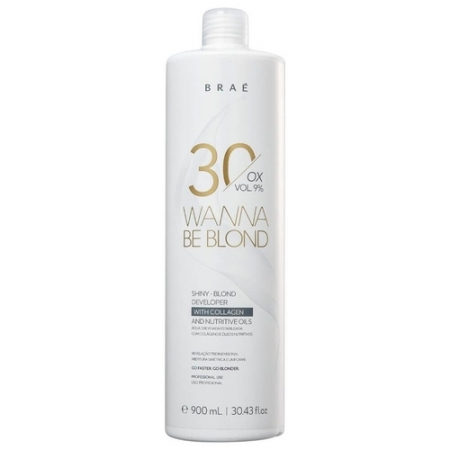 Braé Wanna Be Blond 30 Vol Ox - 900ml