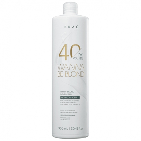 Braé Wanna Be Blond 40 Vol Ox - 900ml