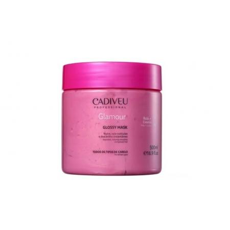 Cadiveu Glamour Rubi Glossy - Máscara Capilar 500ml - P