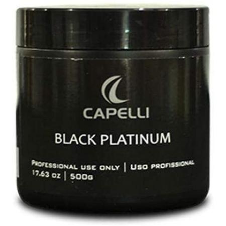 Capelli Máscara Matizadora Para Loiras Black Platinum 500g - R
