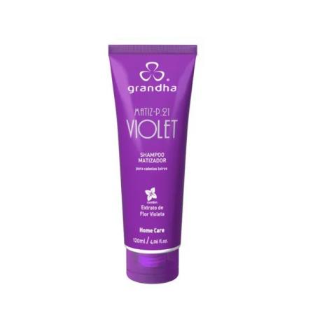 Grandha Shampoo Matiz P.21 Violet 120g