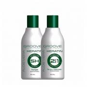 Groove Professional Aloe Vera Keratin - Kit Pós Química 2x300ml