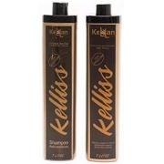 Kit Escova Progressiva S/ Formol Shampoo + Redutor Kellan Keliss 2x1L