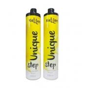Kit Kellan Progressiva Unique Shampoo e Reconstrutor Capilar 2x1L