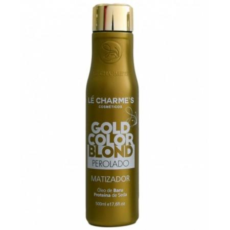 Le Charmes Intensy Color Gold Blond Matizador Efeito Perolado 500ml - R