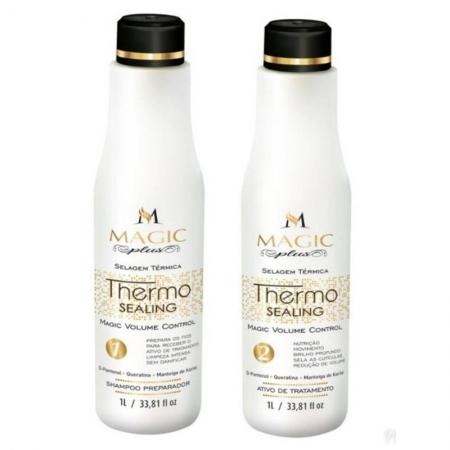 Magic Plus Thermo Sealing - Selagem Térmica Kit 2x1L