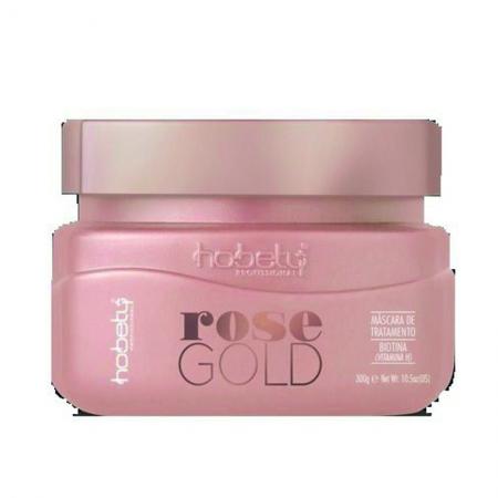 Máscara Rose Gold Hobety 300g