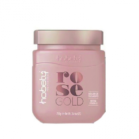 Máscara Rose Gold Hobety 750gr