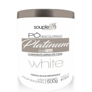Souple Liss Pó Descolorante Platinum White Dust Free 500g - T
