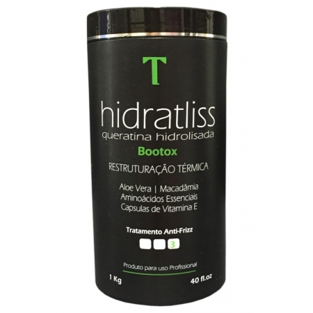 Thyrre Cosmetics Hidratliss Redutor de Volume Capilar 1kg