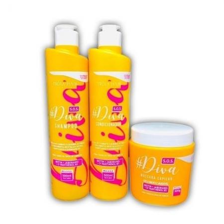 Troia Hair Manutenção Poderosa SOS Diva 3X500ml
