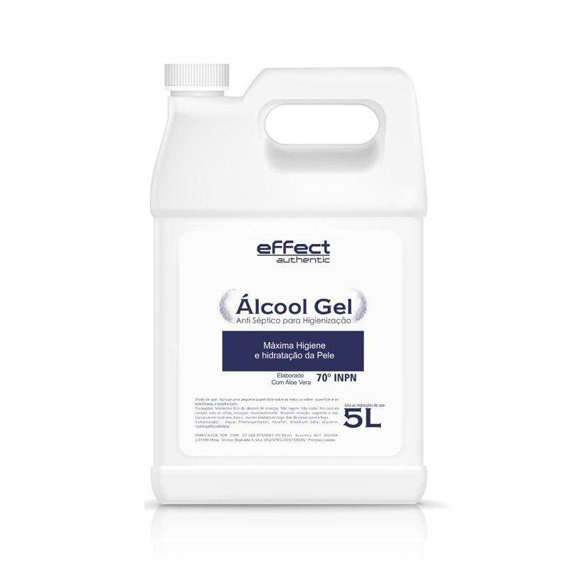 Álcool Gel Effect Authentic 5L