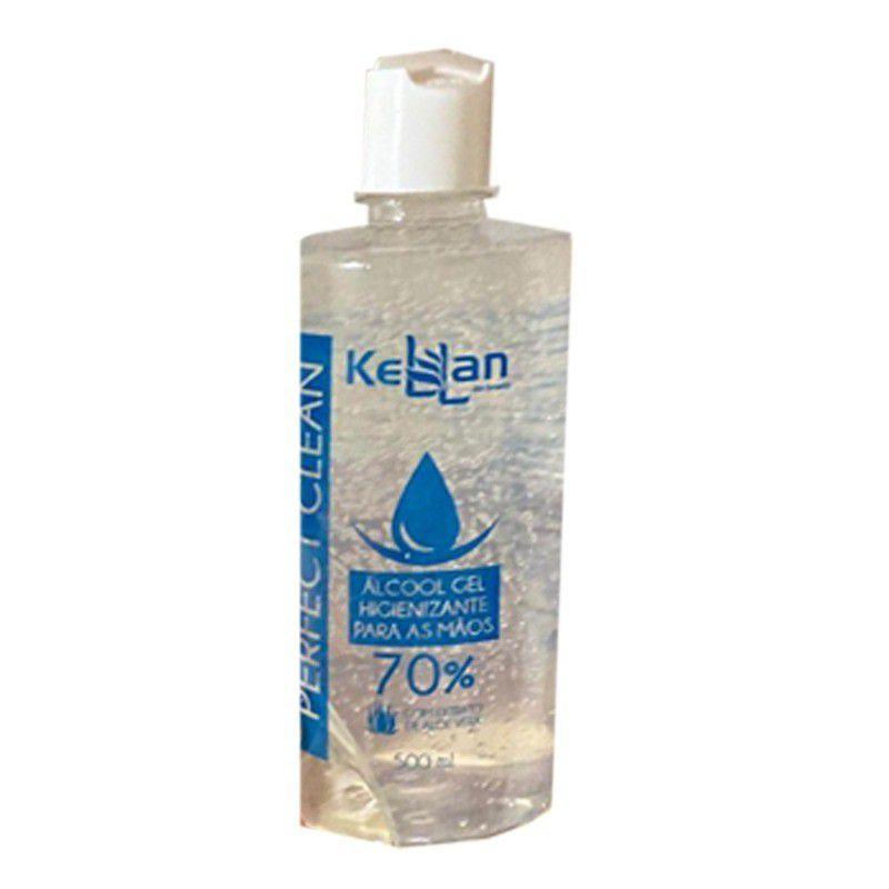 Álcool Gel Kellan Perfect Clean - 70% 500ml