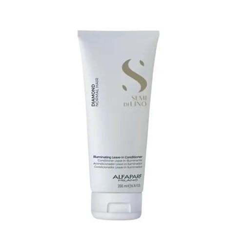 Alfaparf Semi di Lino Diamante Illuminating Leave-in Detangling Cream - Creme Para Pentear 200ml