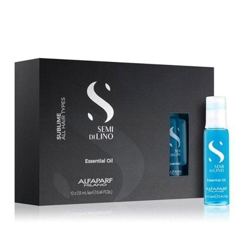 Ampolas Semi Di Lino Essencial Oil Sublime Alfaparf  12x13ml
