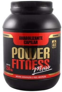 Anabolizante Capilar Power Fitness Mass Floractive 2,4kg - P