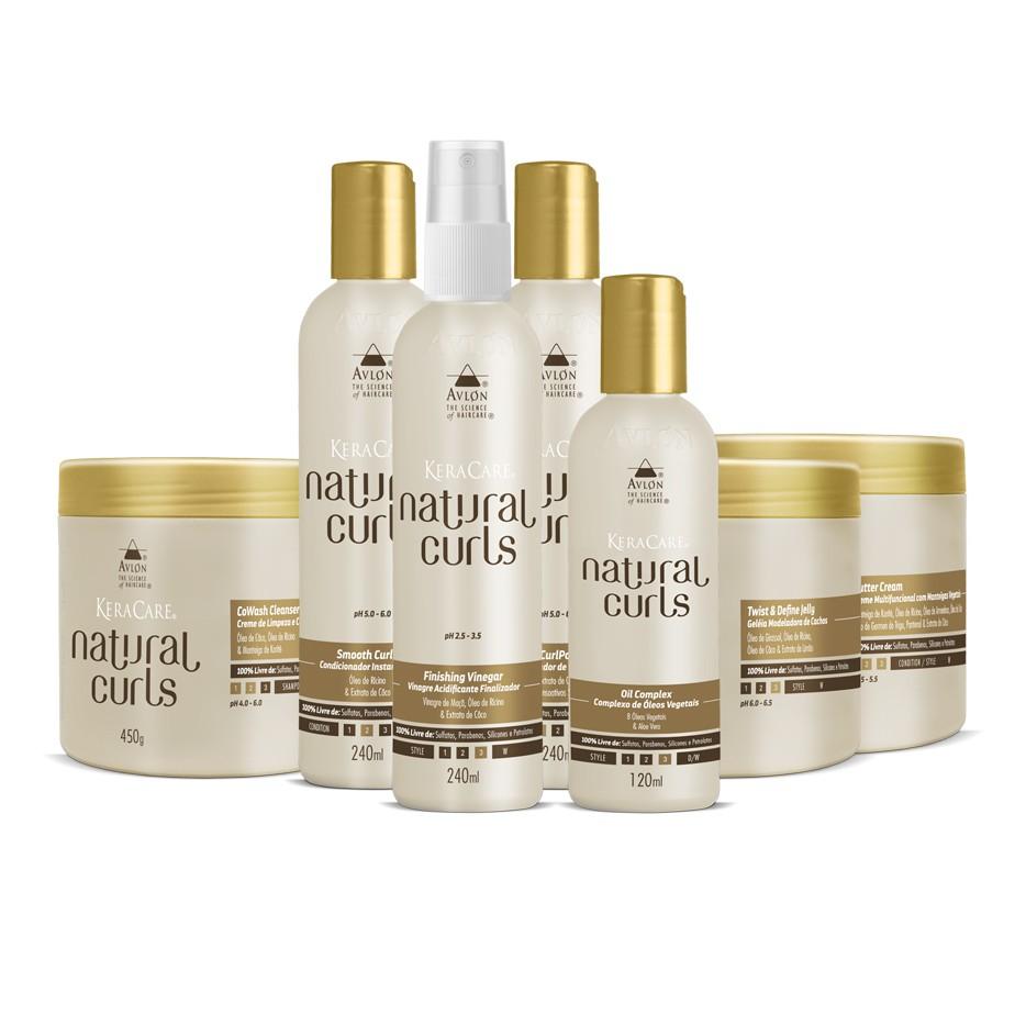 Avlon Keracare Natural Curls Kit Grande - 7 itens - G