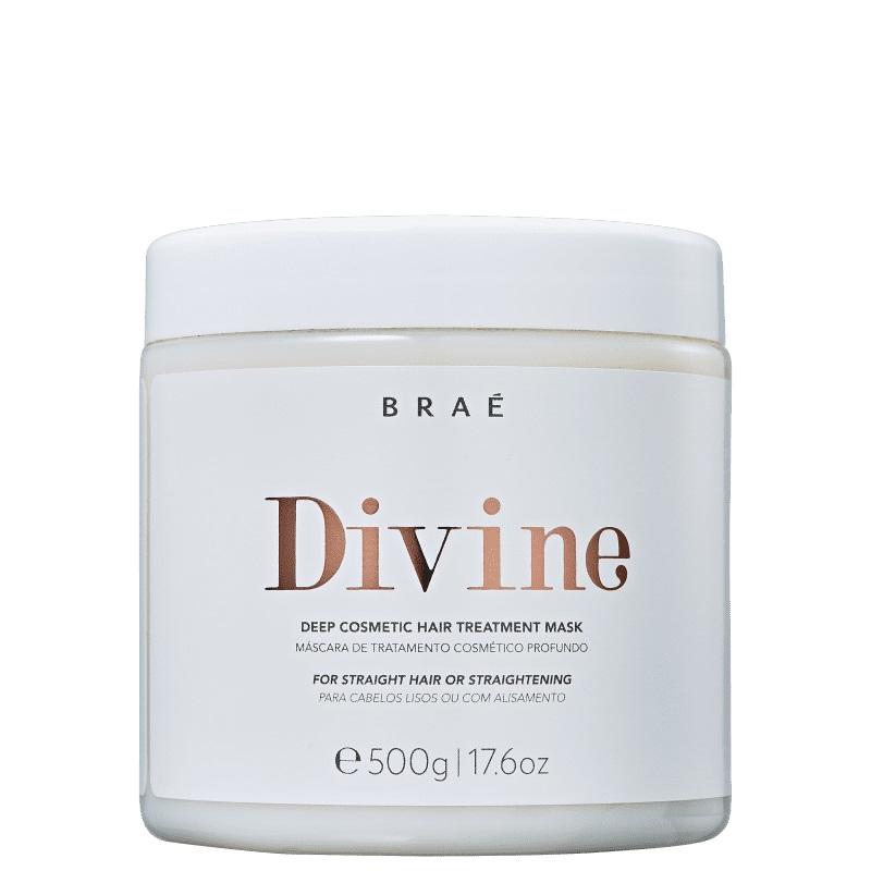 Braé Divine Máscara Tratamento Profundo Anti-Frizz 500g