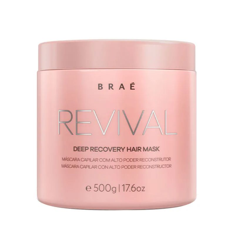 Braé Revival Mask - Máscara de Reconstrução 500g