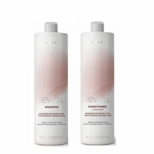 Braé Revival Shampoo e Condicionador 2x1L