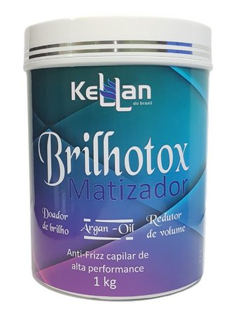 Brilhotox Matizador Redutor de Volume Kellan 1Kg