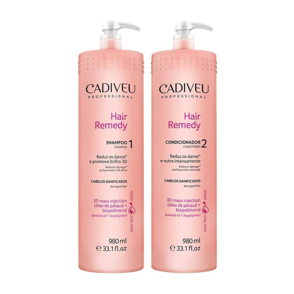 Cadiveu Hair Remedy Kit Duo Profissional 2x980ml - P