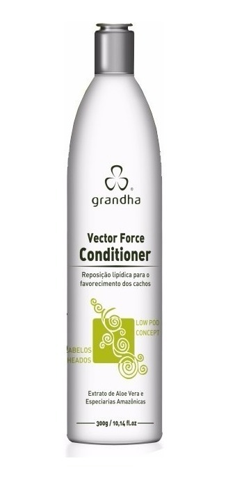 Condicionador Curl & Wave Vector Force Grandha 300ml