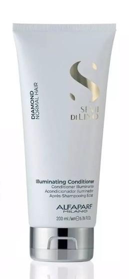 Condicionador Diamante Illuminating Conditioner Alfaparf Semi di Lino 200ml