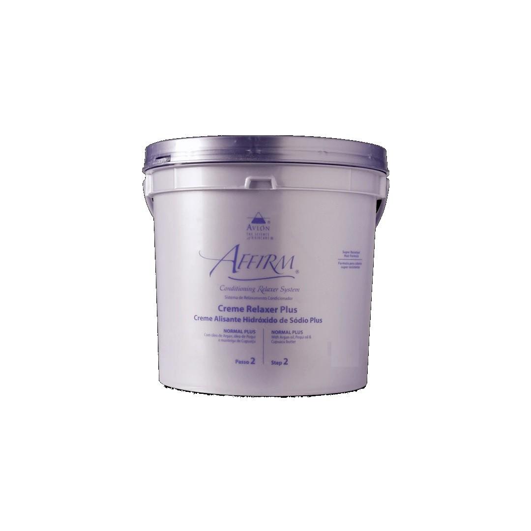 Creme Alisante Hidróxido de Sódio Normal Plus Avlon Affirm 900g