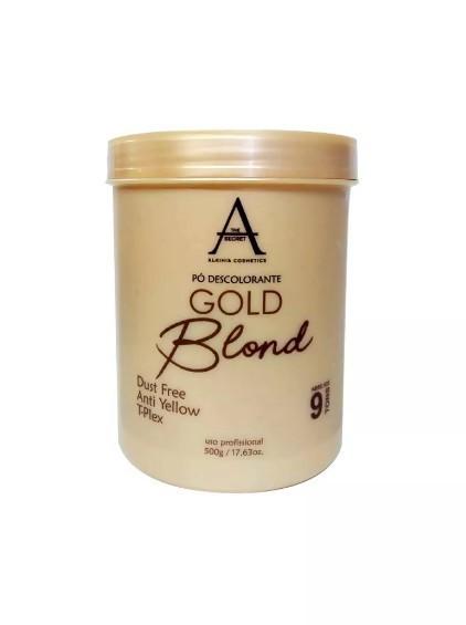 Descolorante Gold Alkimia Cosmetics 500g - 9 Tons