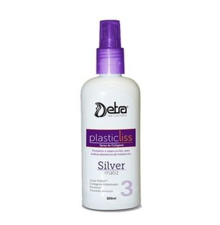 Detra Cosméticos Plastic Liss Spray de Colágeno Silver 200ml - R