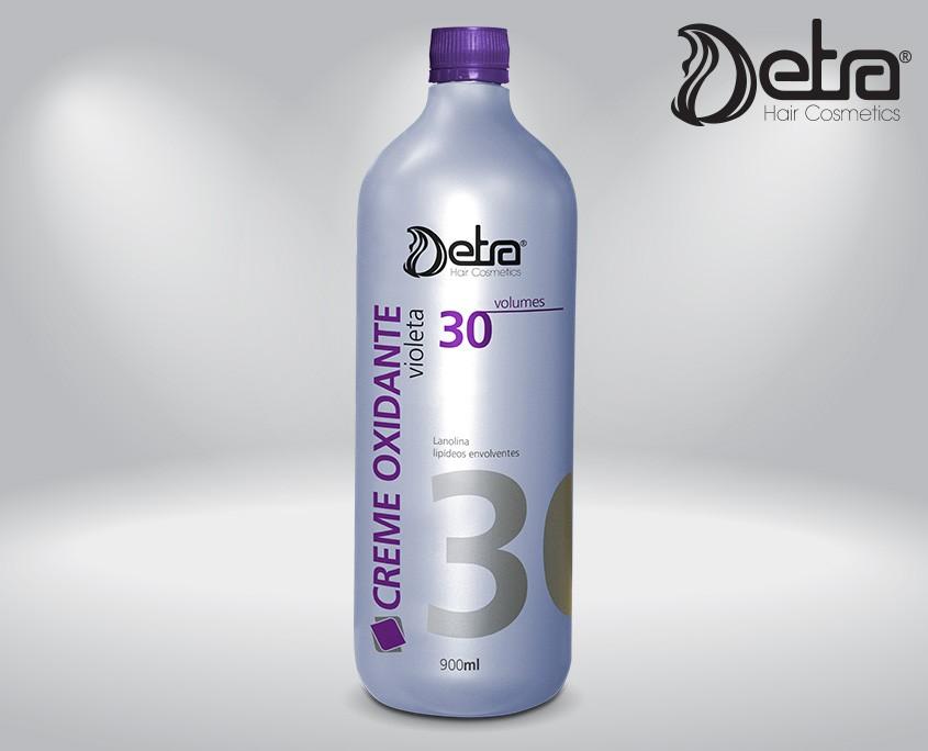 Detra Creme Oxidante Violeta 30 Volumes 900ml - Ox Detra Violeta Vol. 30 - R