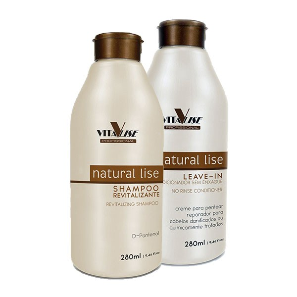 Detra Duo Nutra lise Shampoo + Leave-in - 2x280ml - R