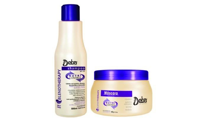 Detra Duo Shampoo Nutri Control 500ml + Nutri Control Máscara 400g - R