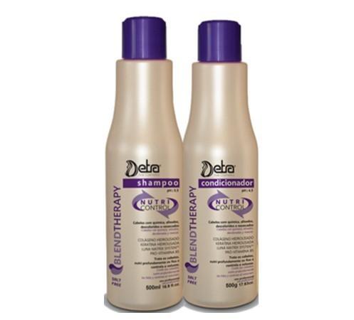 Detra Nutri Control Shampoo e Condicionador Kit 2x 500ml  - R