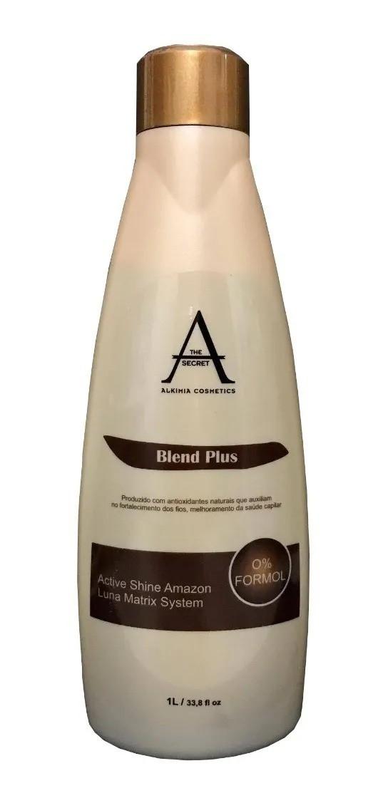 Escova Progressiva Blend Plus 0% Formol Matizadora Alkimia Cosmetics 1L