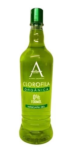 Escova Progressiva Clorofila 0% Zero Formol Babosa Alkimia Cosmetics 900ml