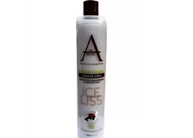 Escova Progressiva Ice Liss Zero Formol Alkimia Cosmetics  - 900ml