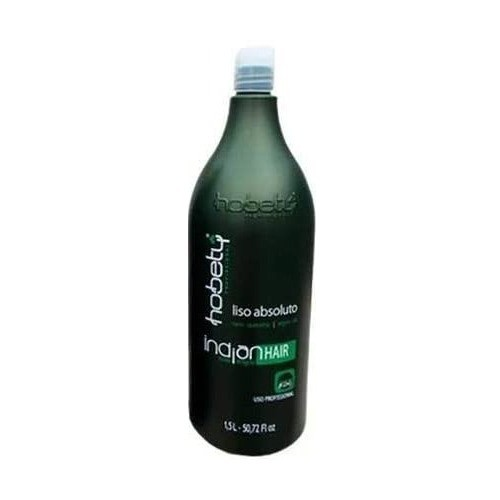 Escova Progressiva Indian Hair Liso Absoluto Hobety 1,5L