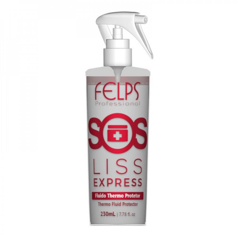 Felps Profissional SOS Liss Express Fluido Protetor 230ml