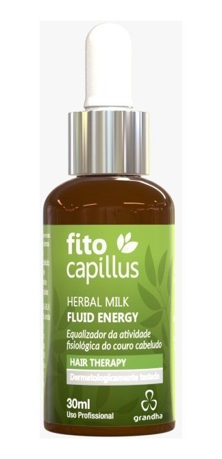 Herbal Milk Fluid Energy - Grandha Fito Capillus - 30ml