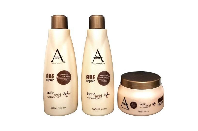 Kit Alkimia Cosmetics Tratamento Abs Repair 3x500ml