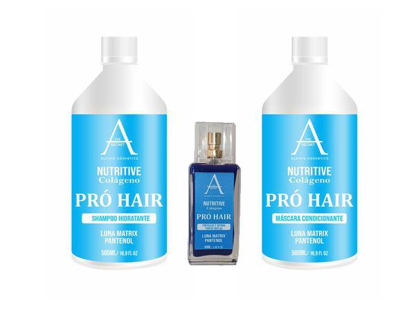 Kit Nutritive Pró Hair Alkimia Cosmetics