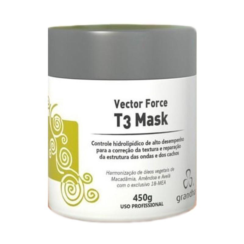 Máscara Curl & Wave Vector Force T3 Grandha 450gr