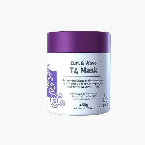 Máscara Grandha Curl & Wave T4 - 450g