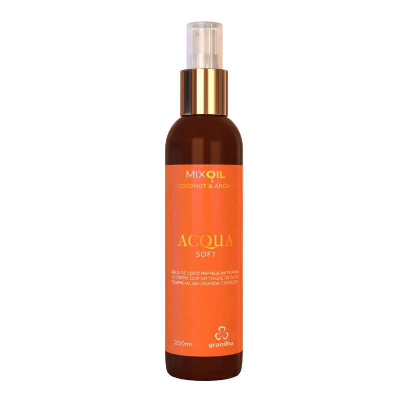 Mix Oil Coconut & Argan Acqua Soft Grandha 200ml