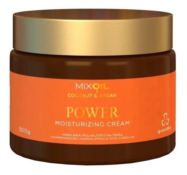Mix Oil Coconut & Argan Power Moisturizing Cream Grandha 300gr