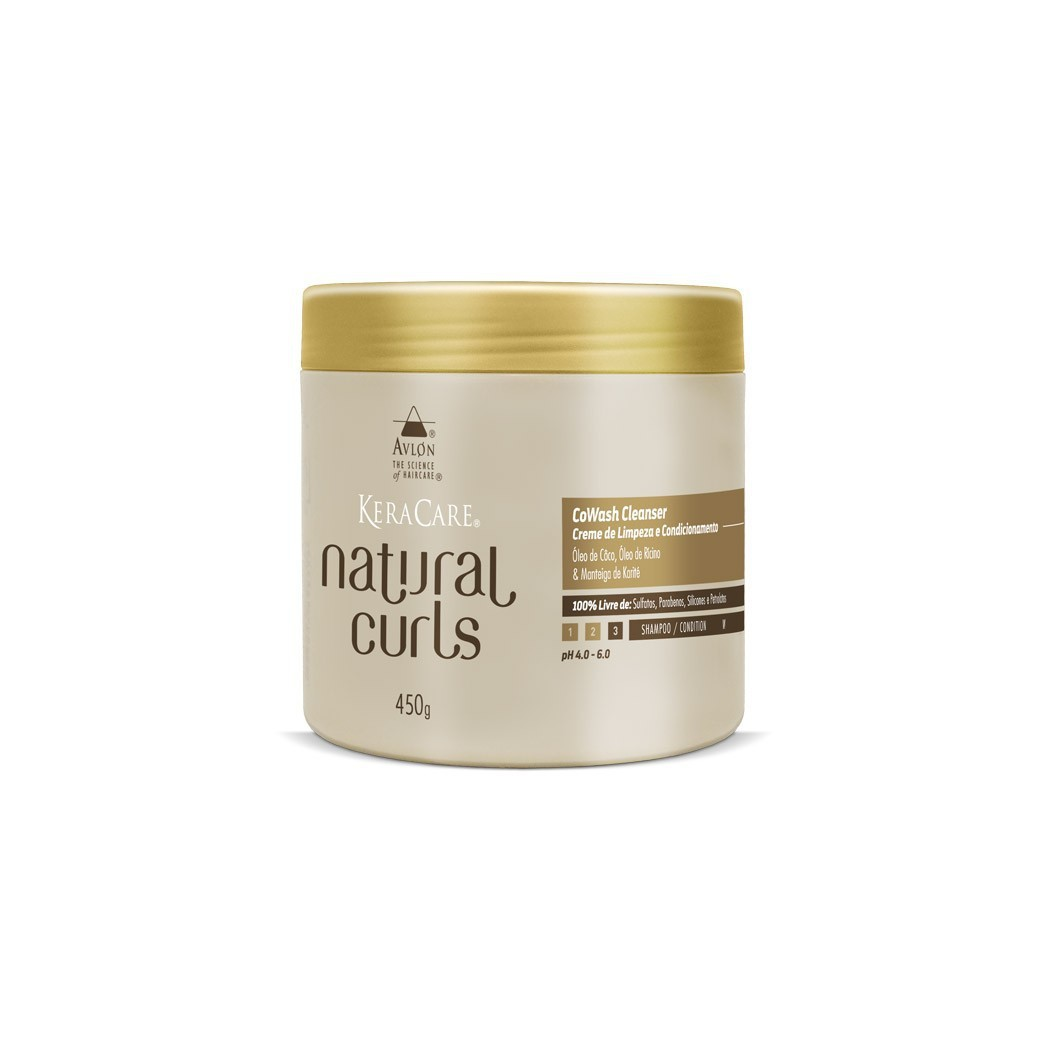 Natural Curls CoWash Cleanser Avlon KeraCare 450g - G